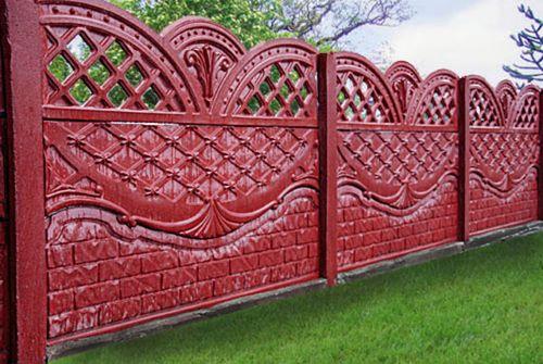 Крашеный забор