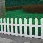 Как сделать декоративный забор из ПВХ-пластика для дачи