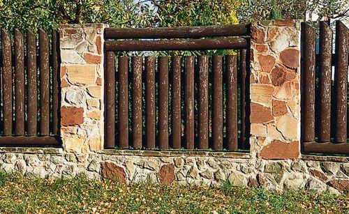 Выбираем деревянный забор