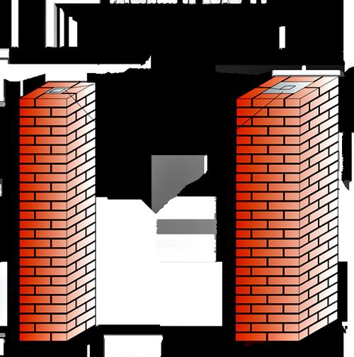 Выбор высоты столбов