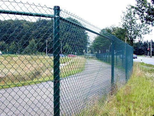 Забор из пластиковой сетки