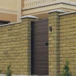 Забор из бессера: технология строительства