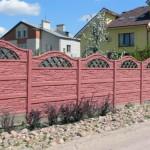 Строим забор из бетонных панелей