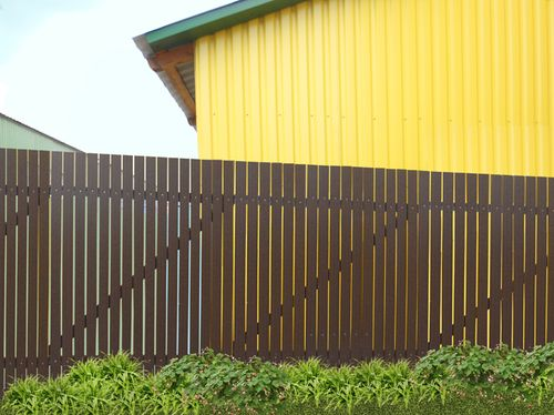 Красивый забор