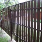 Как установить забор из евроштакетника для дачи