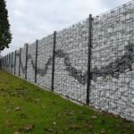 Забор из габионов: функционально и красиво