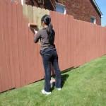 Каким цветом покрасить забор у дома