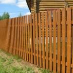 Деревянные заборы для дачи: фото идеи