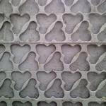 Забор из высечки: фото идеи