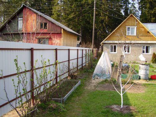 Ставим забор меду соседями