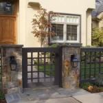 Какие заборы для частного дома выбрать: фото идеи