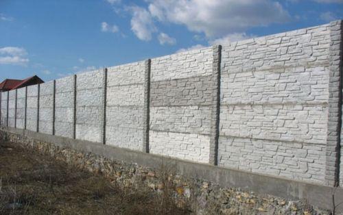 Железобетонный забор своими руками фото 899