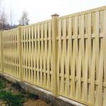 Виды деревянных заборов для дачи и дома