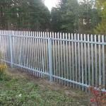 Как сделать железный забор