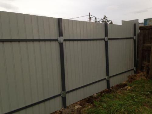 Делаем забор без сварки