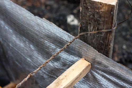 Ремонт с помощью проволоки