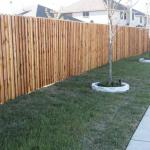 Строим красивый забор из лиственницы