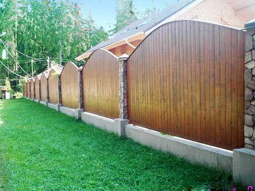 красивый забор из лиственницы_12