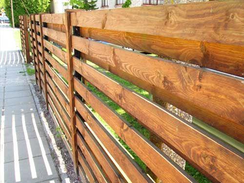 красивый забор из лиственницы_13