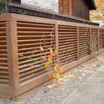 Как построить деревянный забор Лесенка (Елочка)