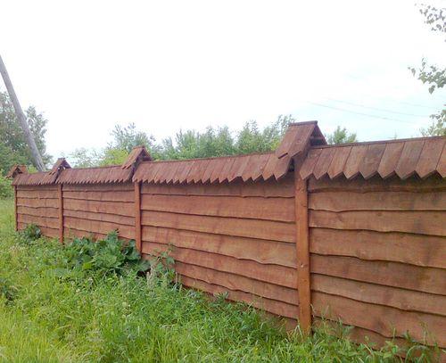 Выбираем горизонтальный забор