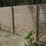 Как построить монолитный забор из бетона