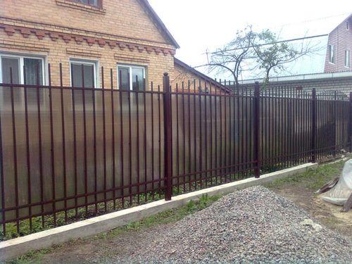Выбираем прозрачный забор