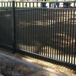 Как сделать забор из металлических прутьев