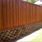 Как построить забор из вагонки: советы мастера