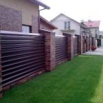 Все про забор жалюзи: виды и материалы строений