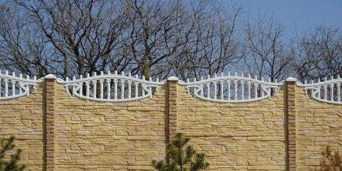 Выбираем цементный забор