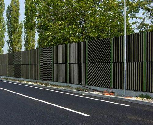 Выбираем забор от шума
